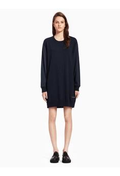 2b2ba49bd57 Calvin Klein Calvin Klein Fabrix Mix Knit Dress 83259AA7DF21A3GS 1
