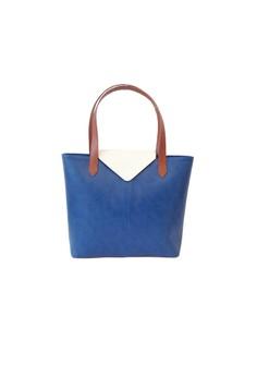 Python Lite Tote Bag (Blue & White)