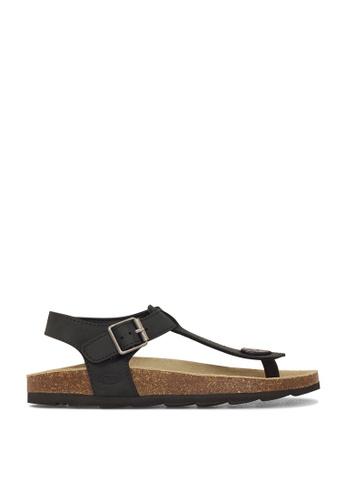 ROC Boots Australia black Byron Black Sandal RO517SH13QOKHK_1