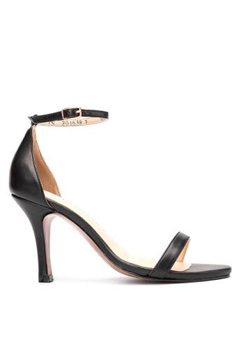 CARMELLETES black High Heeled Sandals CA179SH03ZUAPH_1