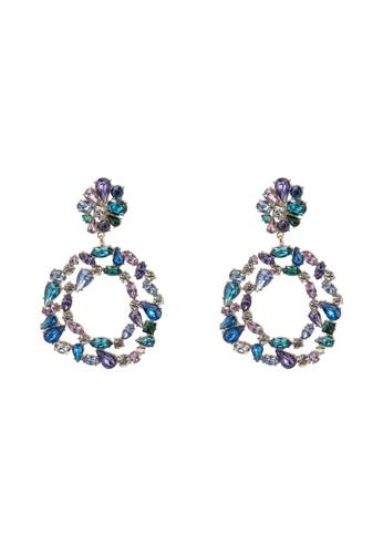 ALDO purple Lothiri Pierced Earrings F2423AC687BC18GS_1