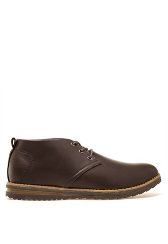 Preview brown Men's Formal Shoes PR211SH28GOLPH_1