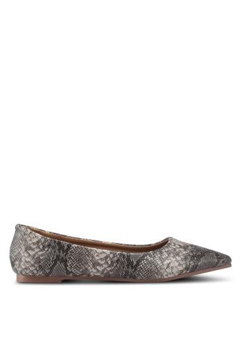 Rubi 灰色 Primo Point 平底鞋 944F1SH703AD6EGS_1