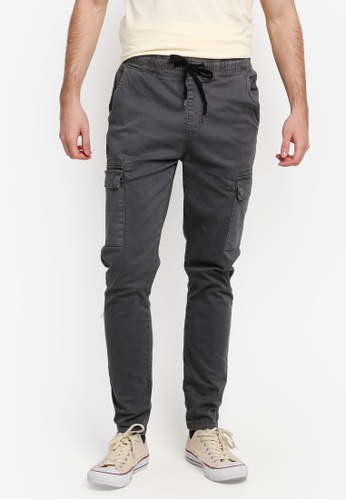 Factorie grey Convoy Pants FA880AA0SKMKMY_1