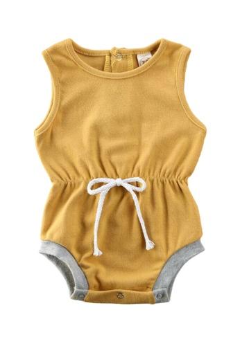 RAISING LITTLE yellow Riri Romper 619F6KA15A4455GS_1