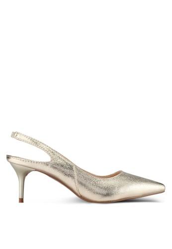 Something Borrowed gold Pointed Slingback Heel AB6B1SH9922B01GS_1