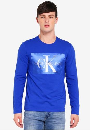 Calvin Klein multi Satin Slim Tee 308C4AAC5745E5GS_1