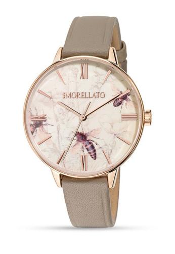 Morellato beige Ninfa Quartz Watch R0151141505 Beige Leather Strap 3102BACF4A38ECGS_1