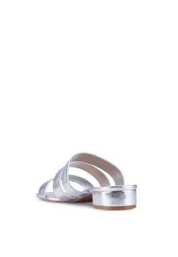 9466aa93cae4 Buy Dorothy Perkins Wide Fit Silver Stormy Sandals Online