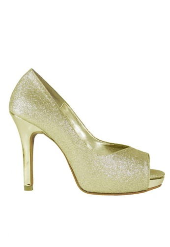 Jacque gold Victoria Heels in Gold JA262SH34DARMY_1