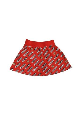 MOSCHINO BABY KID TEEN red MOSCHINO GIRLS SKIRT A6EADKA0693767GS_1