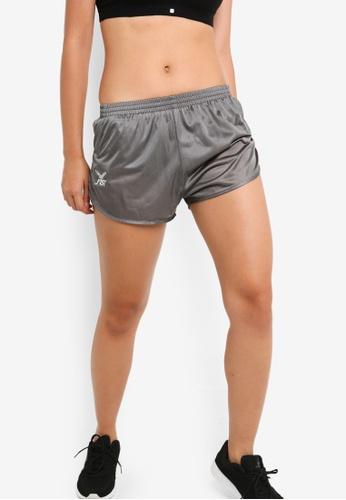 FBT grey Running Shorts Curve Cut 3BAD7AA0C0114EGS_1
