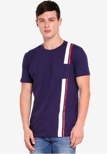 Factorie 多色 短袖口袋T恤 04335AA895790EGS_1