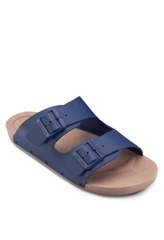 a405addf2 35% OFF Hush Puppies Hush Puppies Men s Bricks 3 Sandal - Navy RM 131.10  NOW RM 85.22 Sizes 7 8 9 10 11
