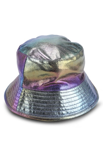 25e41c68a14 Buy TOPSHOP Iridecent Bucket Hat Online