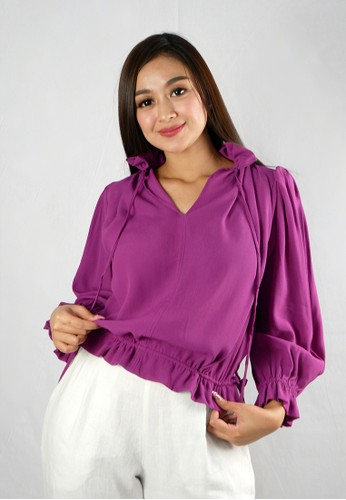 The Ocean Bali purple Shanti top 97D36AA892CDE6GS_1