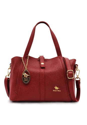 POLO HILL red POLO HILL Neat Look Handbag 2B04DAC1F8627EGS_1