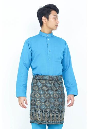 STARVILION 藍色 Carlo Baju Melayu 5DC41AAE3183FBGS_1