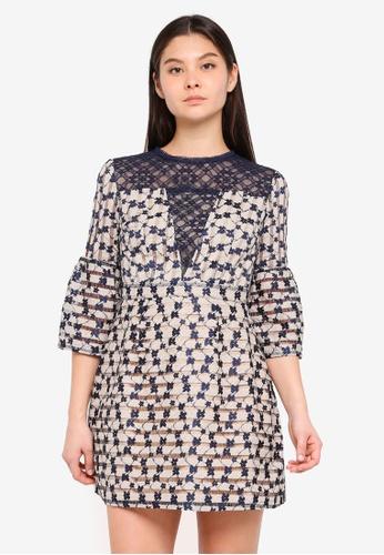 Foxiedox beige Cordelia Dress 1C0E2AA2CA63A9GS_1