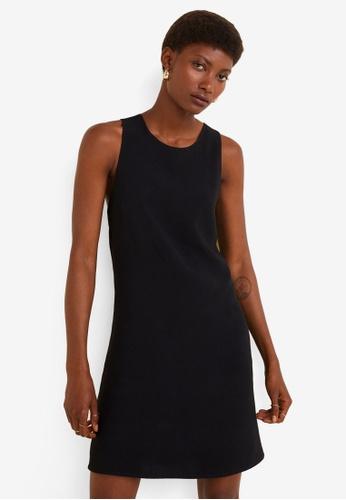 Mango 黑色 Wrap Back Dress F1D9CAAB283657GS_1
