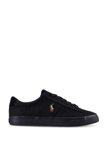 polo ralph lauren black Sayer Sneakers E5A15SH54E28BAGS_1
