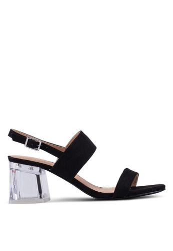 46a26cb23e5 Shop Glamorous Glass Heeled Sandals Online on ZALORA Philippines