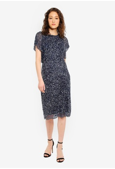 official photos 16bbe 8eff1 30% OFF Angeleye Navy Dress HK  1,419.00 NOW HK  992.90 Sizes XS S M L XL