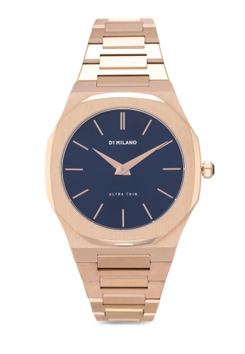 D1 Milano gold Ultrathin Rose Gold Bracelet Watch 78707AC0223A47GS_1