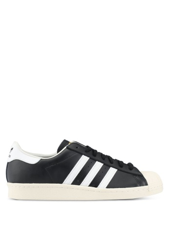 adidas black adidas originals superstar 80s AD372SH0SEAEMY_1