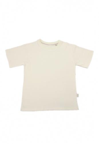 TRENDYVALLEY Trendyvalley Vagorah Organic Cotton Adult Wear / Family Wear Tshirt Tee Shirt (Cream) 3DF40AA6413D55GS_1