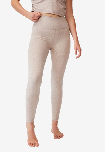 Cotton On Body grey and brown So Peachy Tights EA74DAAFB2BEDFGS_1