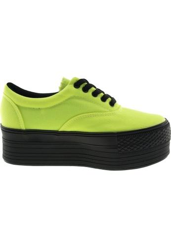 Maxstar green Maxstar Women's C50 5 Holes Platform Canvas Low Top Sneakers US Women Size MA164SH48PSLSG_1
