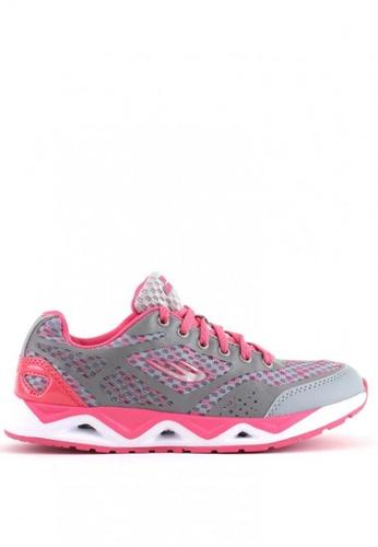 World Balance grey Speed Rave L Running Shoes 6717CSH951F05BGS_1