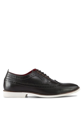 ACUTO brown Leather Brogues AC283SH0SL7AMY_1