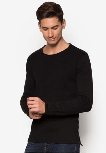 Edison 簡約長袖衫, 服飾zalora時尚購物網評價, 毛線衣