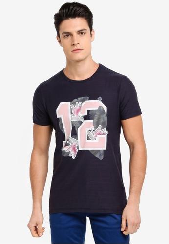 BOSS navy Tarit 5 T-Shirt - Boss Casual 4DAF1AA2F39534GS_1