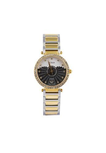 BONIA gold and silver Bonia B10130-2137S - Jam Tangan Wanita -  Silver Gold BO710AC81AYWID_1