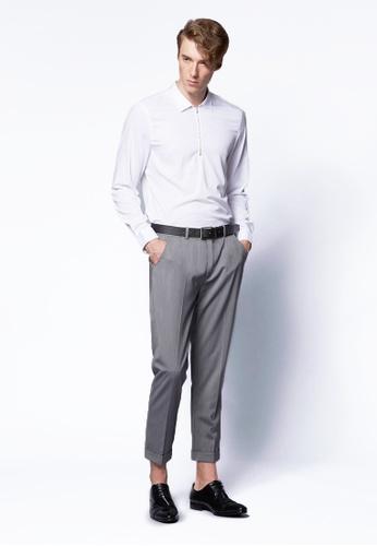 Life8 Formal Suits Pants-12005-Grey LI283AA0FG11SG_1