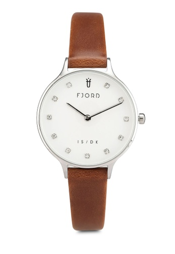 Fjord brown Skogafoss Watch FJ204AC0SBTUMY_1