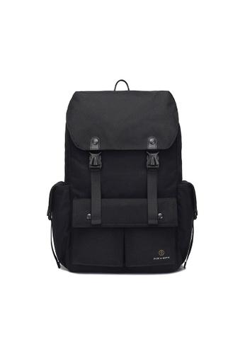 The Dude black Predator Backpack TH373AC67BUYHK_1