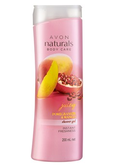 Avon Naturals Pomegranate and Mango Shower Gel