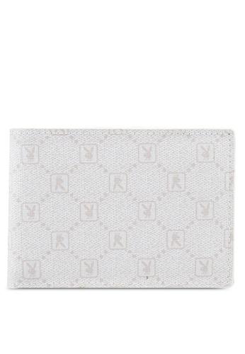 Playboy white Playboy RFID Blocking Bi-Fold Wallet 6AC5DAC5E434CBGS_1