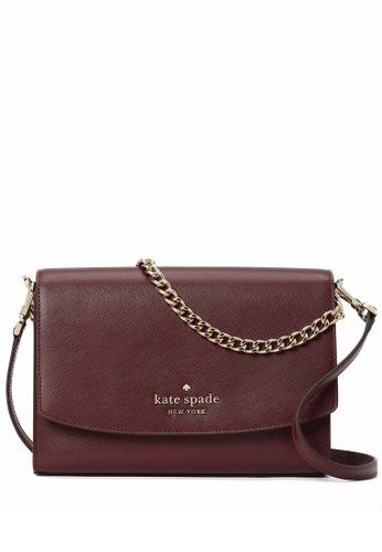 Kate Spade red Kate Spade Carson Convertible Crossbody Bag - Cherrywood E756AAC929116CGS_1