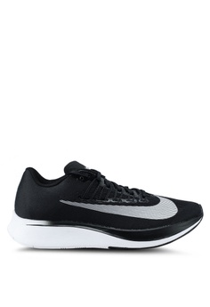 Nike black and white Women's Nike Zoom Fly Running Shoes 40A46SH0348620GS_1