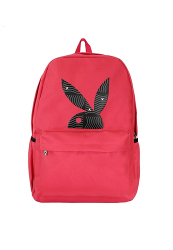 Playboy red Playboy Backpack 7F0BDAC82713C9GS_1