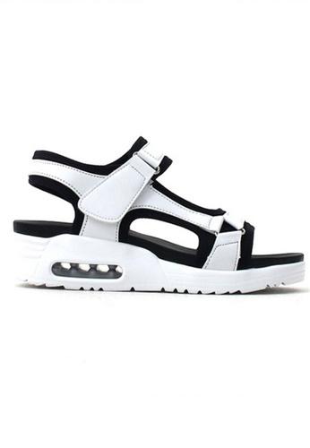 Crystal Korea Fashion white Korean-made Summer Comfort Cushion Sandals E46CFSH514C6CCGS_1