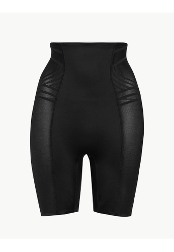 MARKS & SPENCER black M&S Firm Control Magicwear Geometric Waist & Thigh Cincher 9F7ACUS5F0772DGS_1