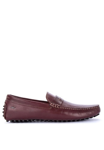 G&G red Jovacelli Loafers 272E9SHEFA43C7GS_1
