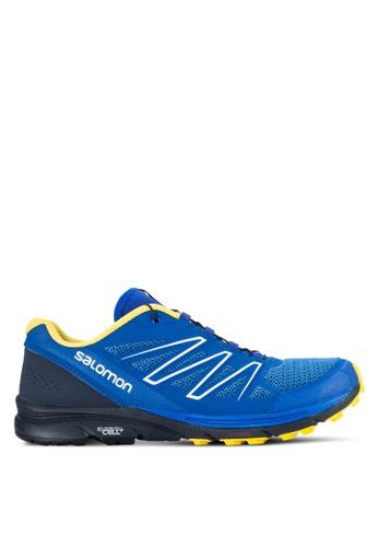 Salomon blue Sense Marin Shoes SA438SH44WCLMY_1