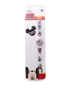 Disney Mickey Mouse & Friends Unisex Plastic Strap Watch MICKEY-SA-103